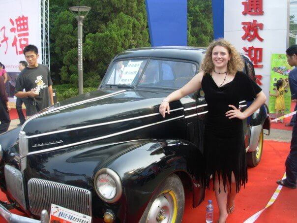 Why Not Car Model in China (even if it is a hideous dress)