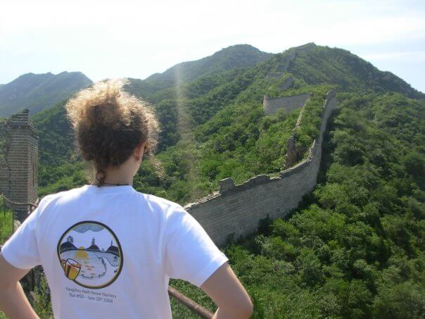 Me at the Great Wall