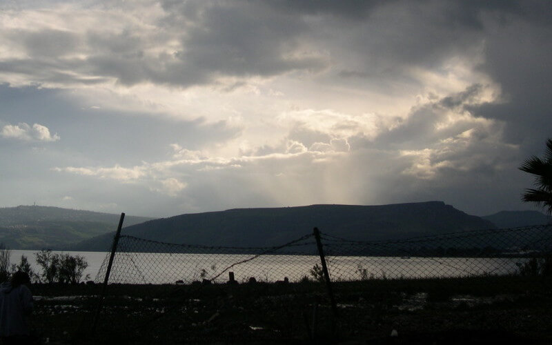 The Sea of Galilee -- Photo by Jacqueline Boone