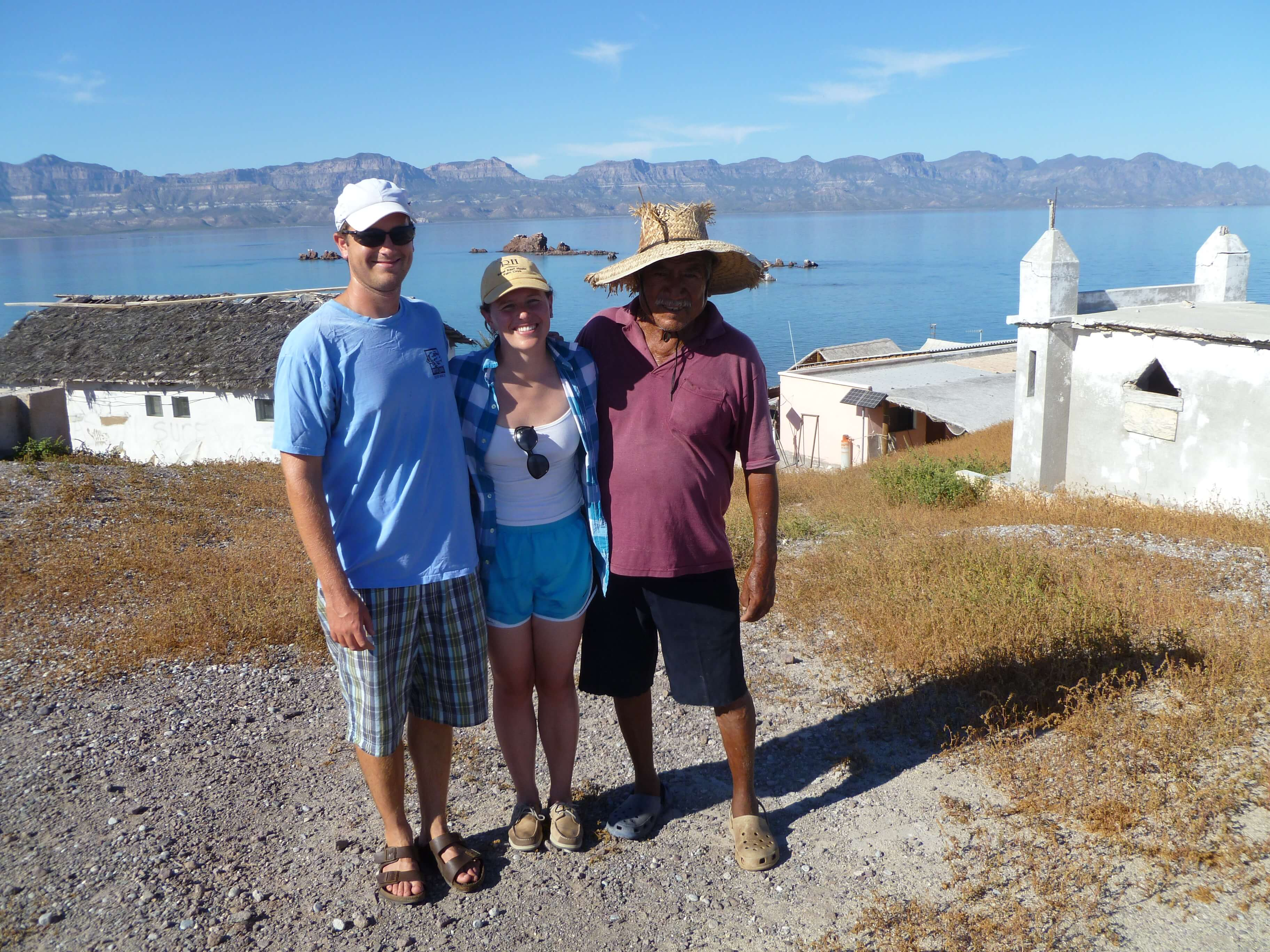 Meeting Manuel of Isla Coyote, a 6-person fishing island in the Sea of Cortez