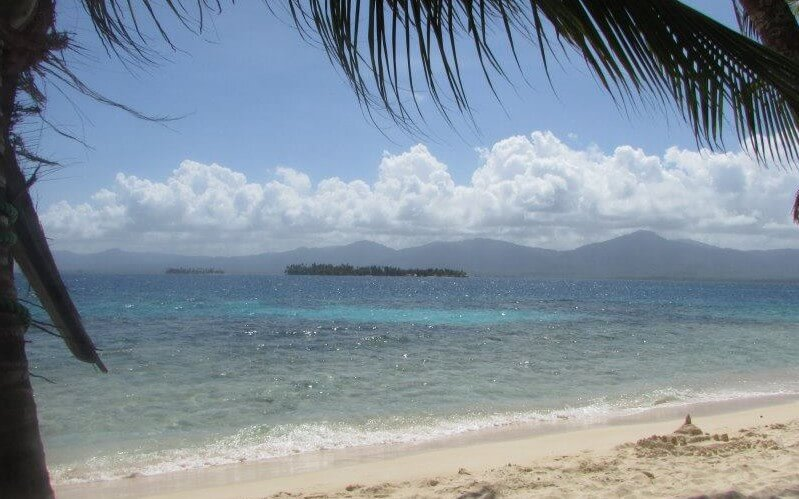 View from San Blas, Panama
