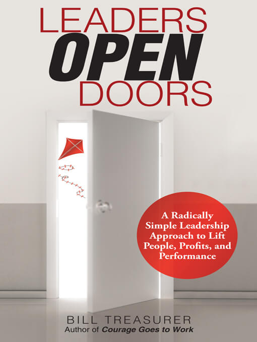 "Bill's New Book, ""Leaders Open Doors"""