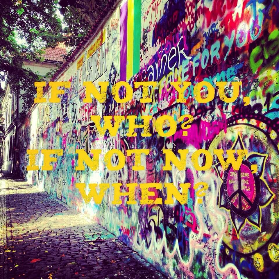 Photo taken by Jacqueline Boone at the John Lennon Wall in Prague