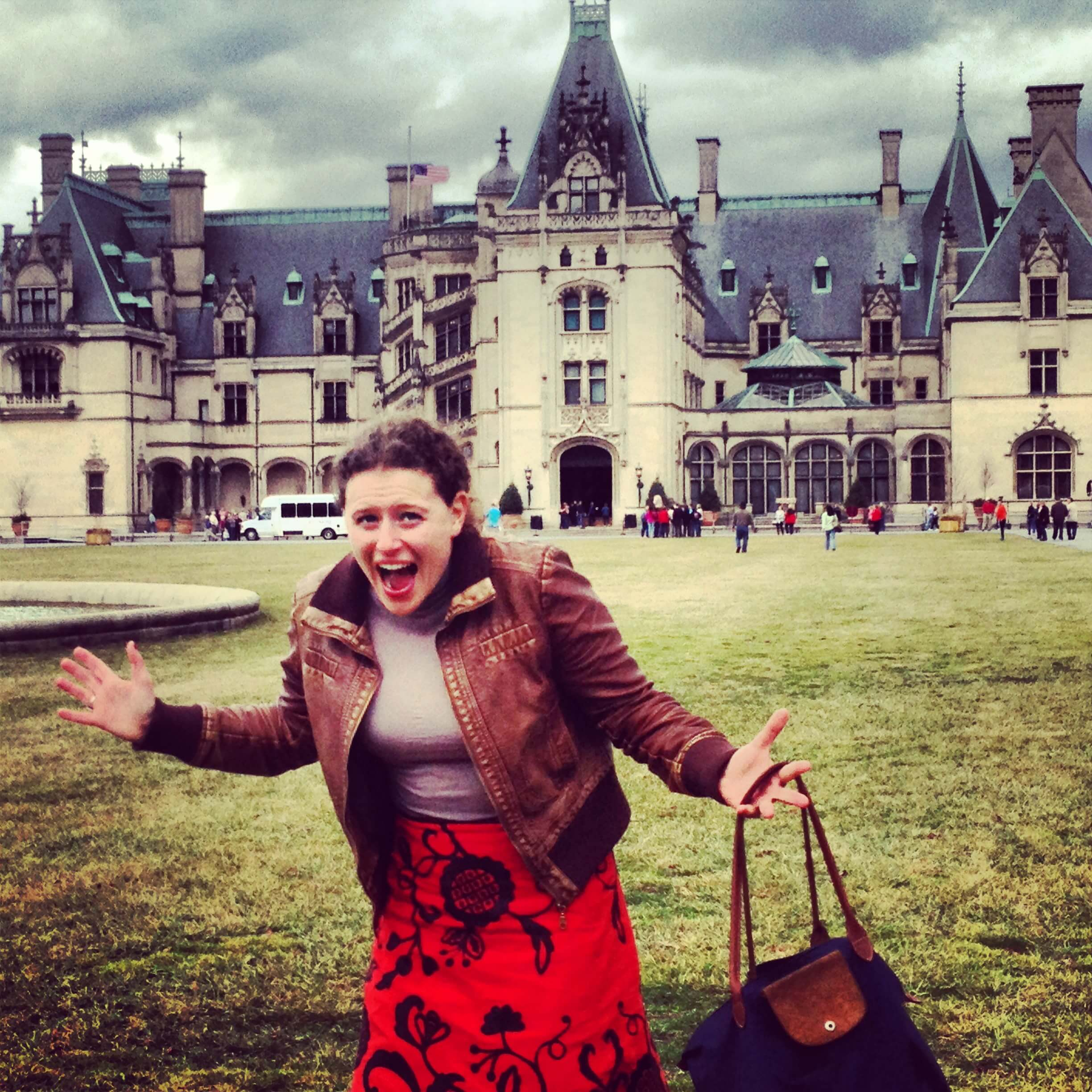 My excitement for Asheville (and the Biltmore) knows no bounds!